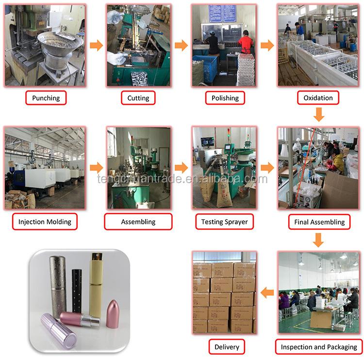 5ml Mini Alüminyum Sprey Parfüm Şişesi