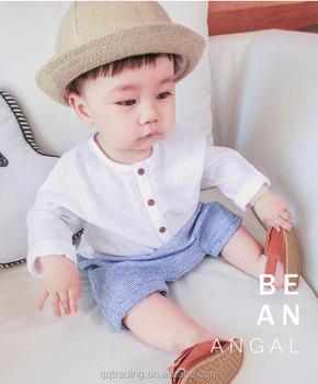 4b058f528a Algodón Venta caliente ropa de bebé recién nacido blanco Primavera Verano  otoño moda bebé niñas verano