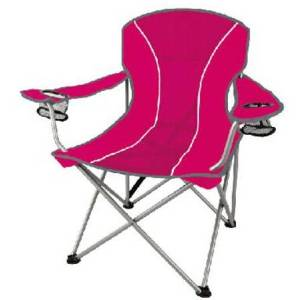 Ozark Trail Oversized Mesh Chair with Steel Frame and Polyester Seat Pink