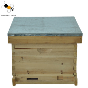 Best price two layers 8 and 10 frames wooden langstroth beehive for sale