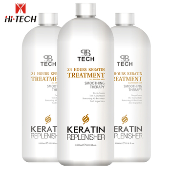 Oem brands High Quality brazilian bio Straightening keratin hair treatment