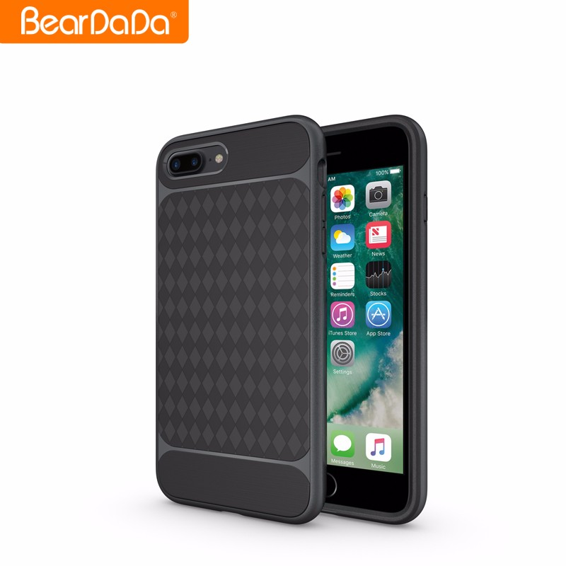 Newest Arrival Square Pattern case for i phone 7plus