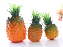 Decorative fake fruit, artificial pineapple for display
