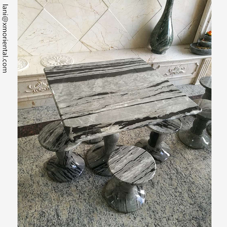 Venta al por mayor mesas de piedra para jardin-Compre online los ...