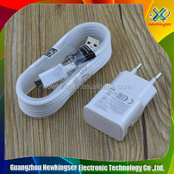 5V 2A EU Plug Adaptive Fast Charging Travel Charger Micro Usb Data Cable For Samsung Galaxy S6