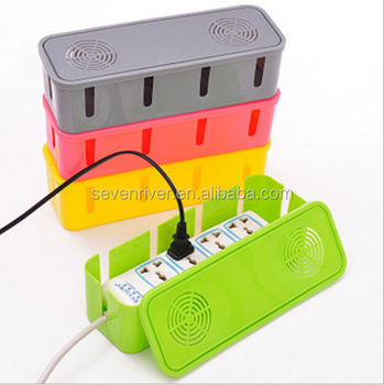 heat dissipation power plug socket anti dust storage box cable wire rh alibaba com