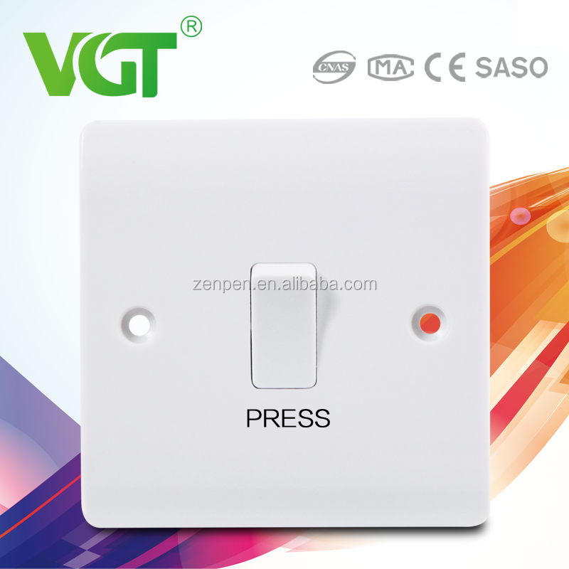 low power consumption Green and eco-friendly high quality electric wall switch minimum order 40