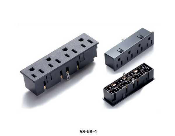Top level best sell good price pcb mount ac power socket