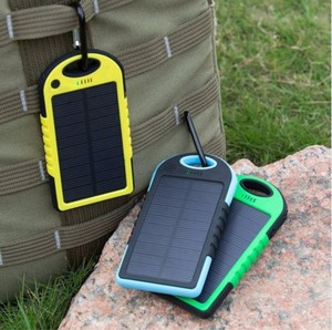 3000mah 4000mAh Shockproof Solar Power Bank Portable Charger Travel Battery for Cell Phone,PSP,Camera
