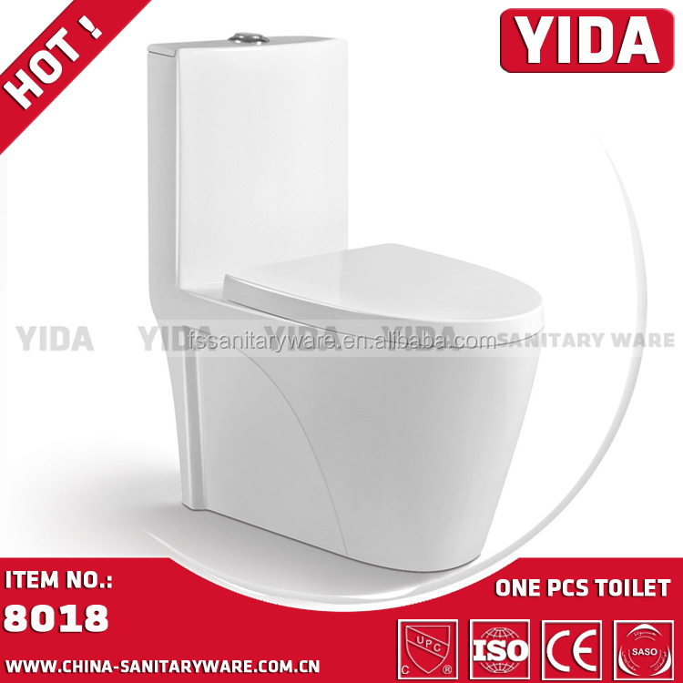 SASO toilet YIDA design s trap toilet wc bathroom washdown one piece toilet