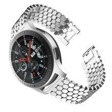 Аксессуары для часов для samsung Galaxy Watch 46 мм SM-R800 роскошный браслет из нержавеющей стали сменный ремешок 22 мм(Китай)