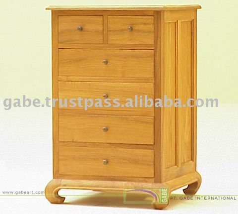 OPIUM CHEST 2+4 DRAWERS