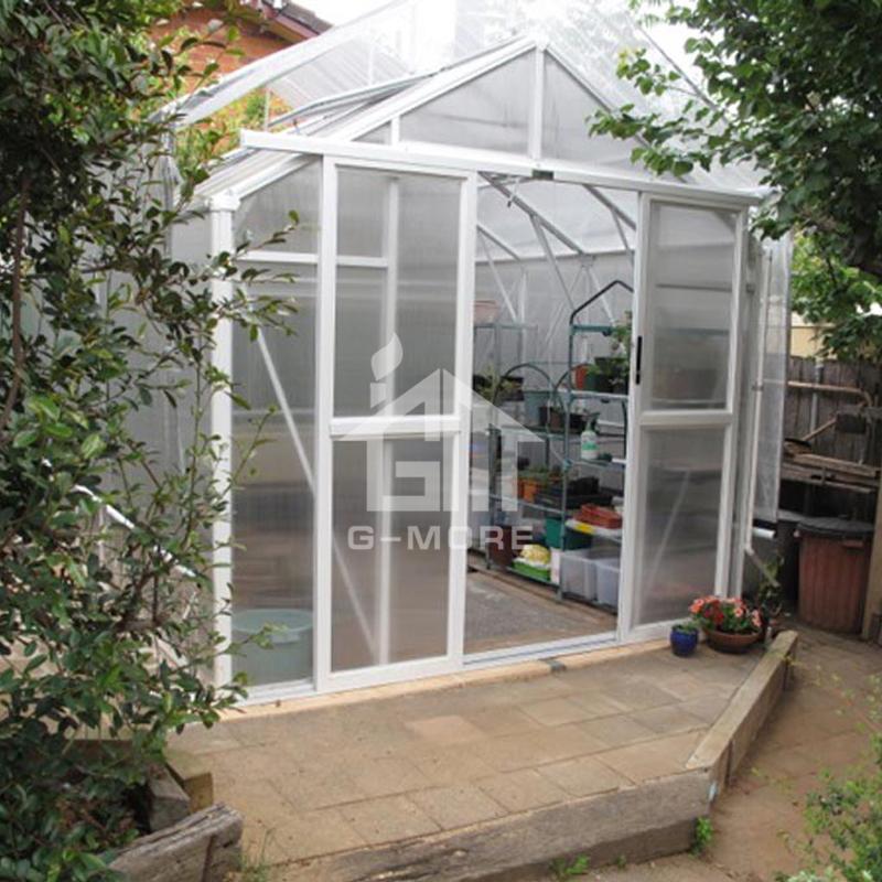 Aluminium Polycarbonate Victorian Greenhouse for Sale - 8.3'x8.4'