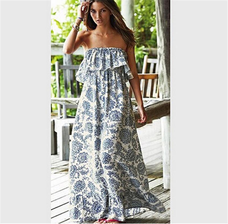 Maxi long summer dresses