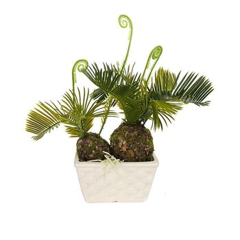 Top koop custom ontwerp mini kunstmatige cycas planten in potten