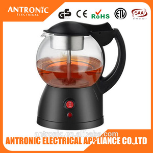 ATC-TCM08 Auto or Manual mode GS/CE/LVD/RoHS cordless coffee maker tea and coffee maker tea coffee maker