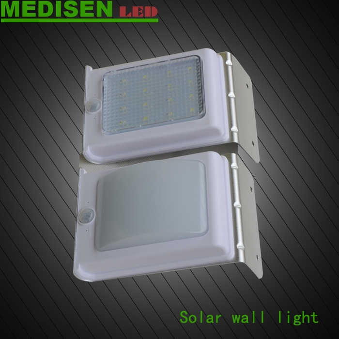 MEDISEN SOLAR LAMPSINOHAMM 8LED Solar Power Wireless Security Motion Sensor Light Outside wall Lamp manufacture in shenzhen