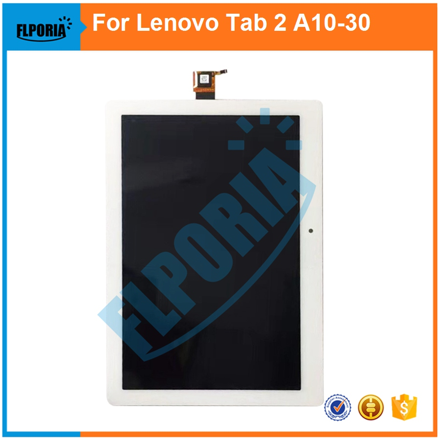 10.1 For Lenovo Tab 2 A10-30 Yt3-x30 X30f Tb2-x30f X30 Lcd Display Glass Panel Touch Screen Digitizer Assembly Non-Ironing Tablet Lcds & Panels