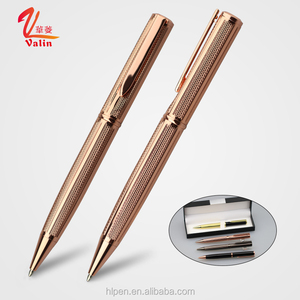 Custom Logo High End Gift Metal Ball Pen Romantic Wedding Favor Pens
