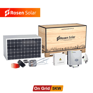 Good quality complete grid tie PV panel kit home solar power system price 5kw 8kw 10kw 12kw solar energy systems for home