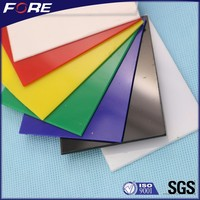 Color High Impact PS Polystyrene Sheets Manufacturer, 1mm 2mm 3mm Transparent HIPS Plastic Plate For Vacuum Forming
