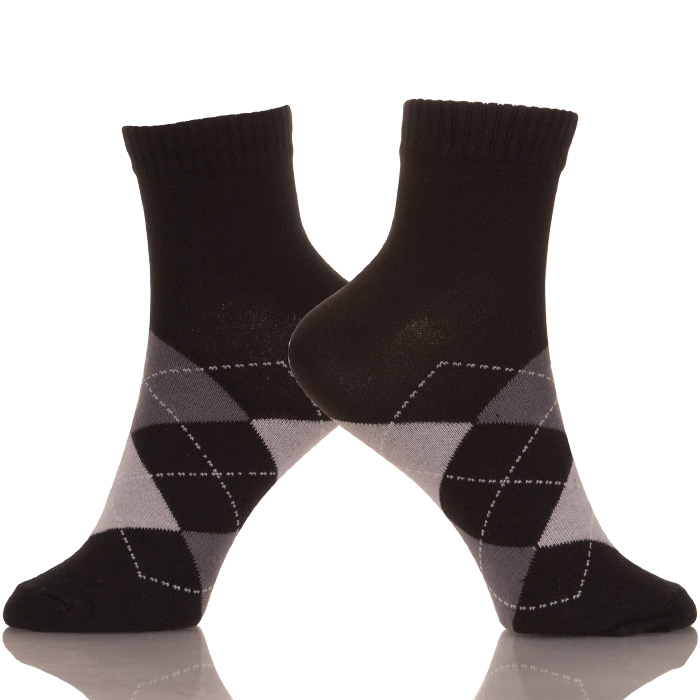 Mens Black Socks Men's Socks High Ankle Men Casual Dress Socks Cotton