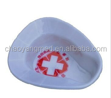 Female patient use hospital plastic bed pan CY-MP23D
