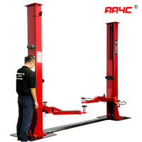 AA4C 4.0T electrical released automatic unlock floorplate 2 post car lift auto hoist vehicle lift AA-2PFP40E