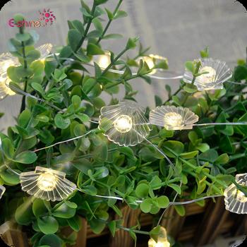 Novelty String Light 10 Foot 30 Light Led Micro Seashell String Lights Buy Coastal Seashells String Lights 10 Led Lights Indoor Outdoor