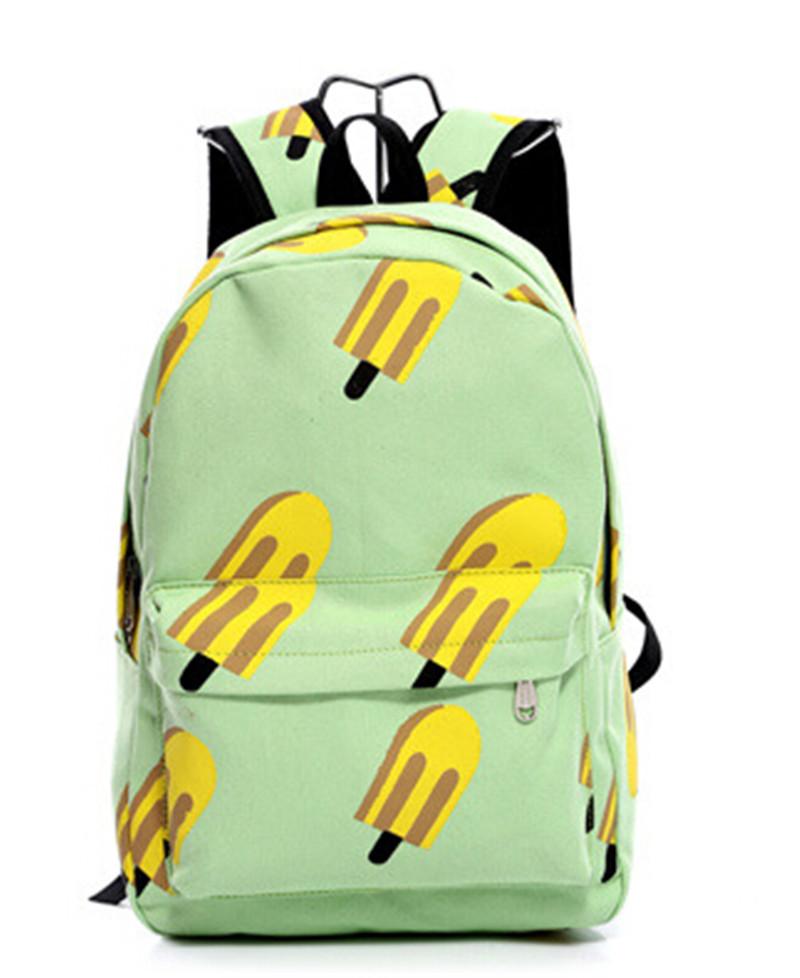 ba6d384ff0 Get Quotations · 26 42  12 cm Backpack Mochila Women S Canvas Travel  Satchel Shoulder Bag Backpack Lovely