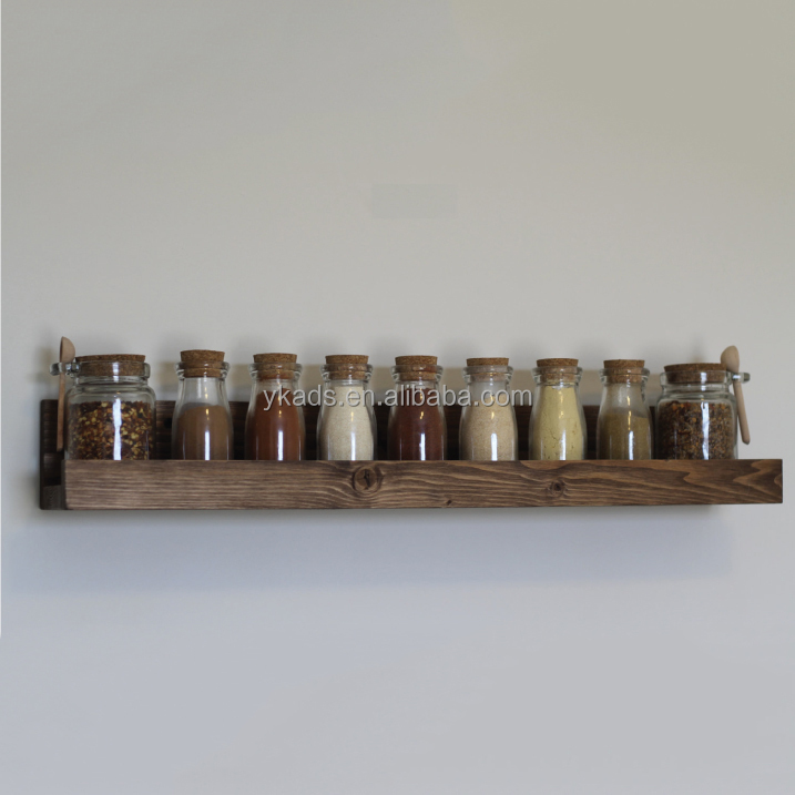 Storage Shelving kitchen seasoning display table