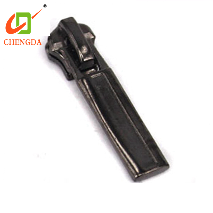 CHENGDA China Price Man Clothing Metal Reversible Zip Zipper Pullers Sliders