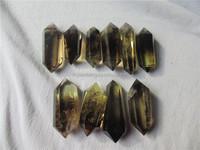Wholesale natural smoky quartz point,rock quartz crystal points ...