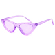STORY STY3266 Bling Lens Celebrity Style Vintage Retro Plastic Frame Narrow Cat Eye Women Sunglasses Clout Goggle