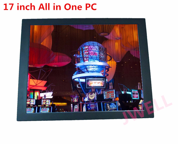 17 inch 1037U 1.8GHz dual core All in One PC all in one open frame touch screen computer