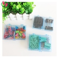 Quality Paper Clip Binder Clip Stationery Set