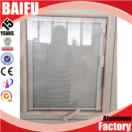 BaiFu White Aluminium Roller Shutter for Kitchen and Office Cabinets