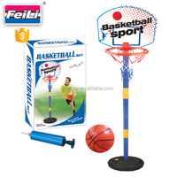 children educational toy indoor basketball play set with 6'' ball