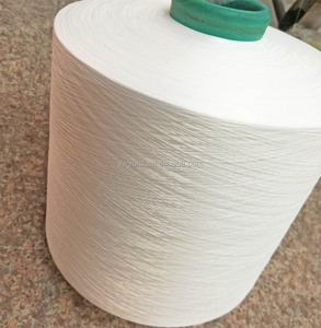 raw white Polyester yarns
