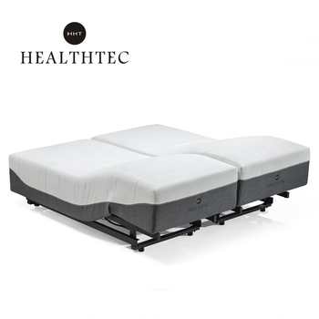 King size electric adjustable hotel bed base