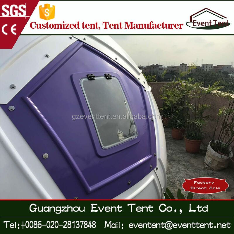 Temporal waterproof homestead cheap dome for fugitive or tramp settlement