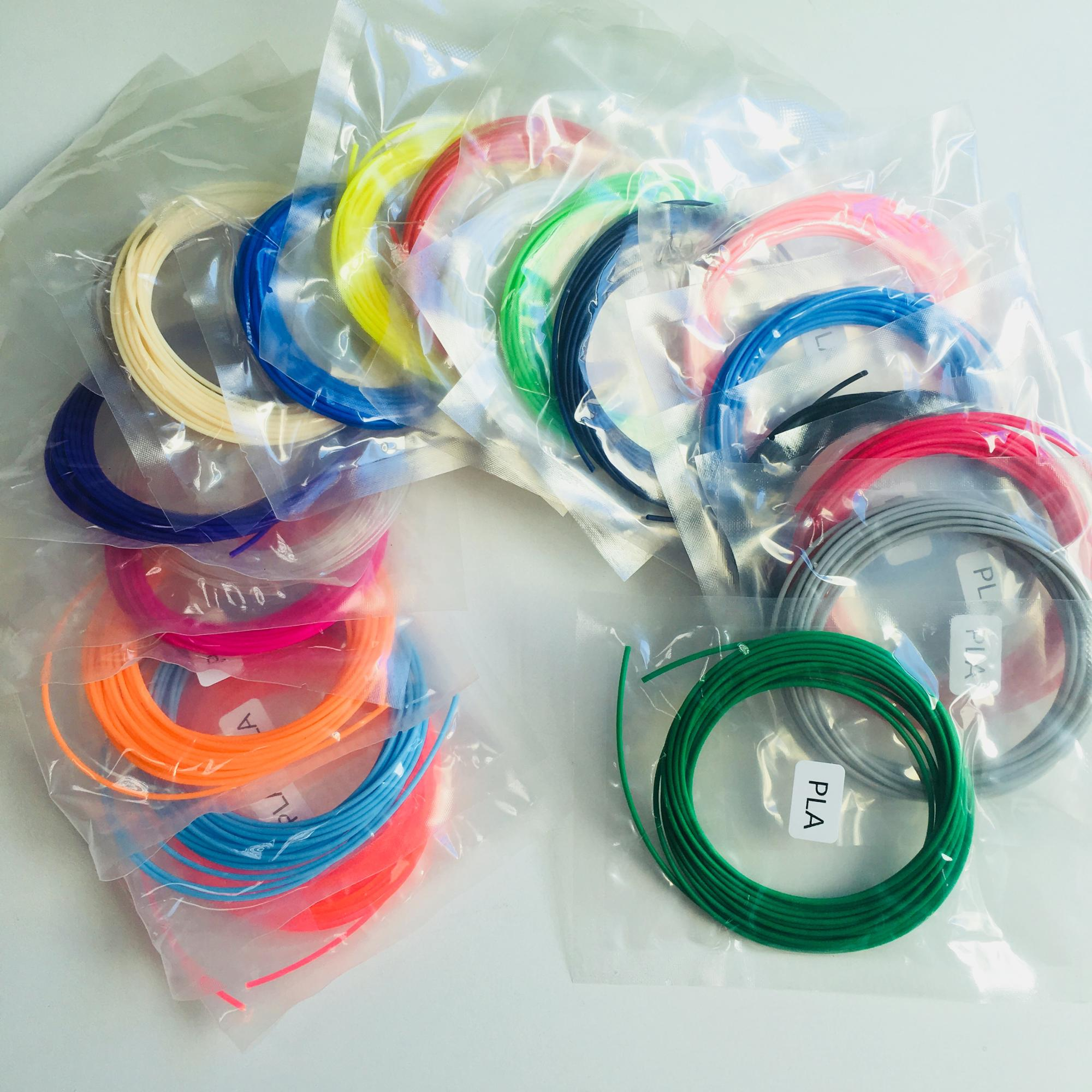 China suppliers 3D pen filament 16 colors 1.75mm pla abs