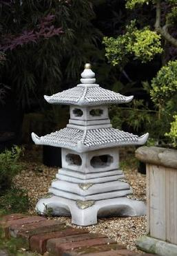 Japan Japanese Style Pagoda Style Tiered Granite Stone Lantern For Garden  Use