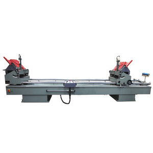 Aluminum Window Double 2 Head angle Cutting Saw Machine