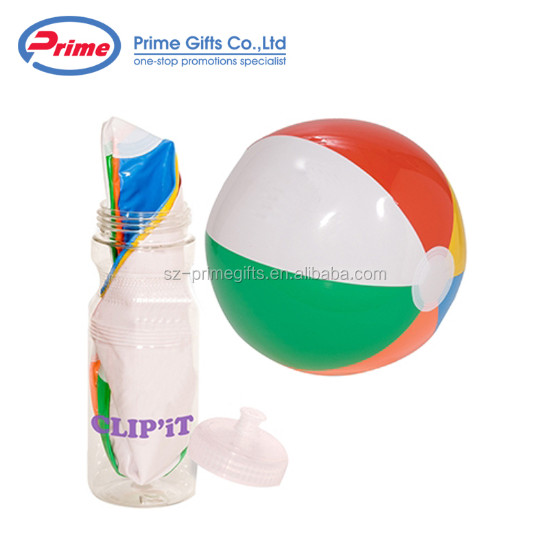 2018 High Quality Kids Play Inflatable Clear PVC Beach Ball
