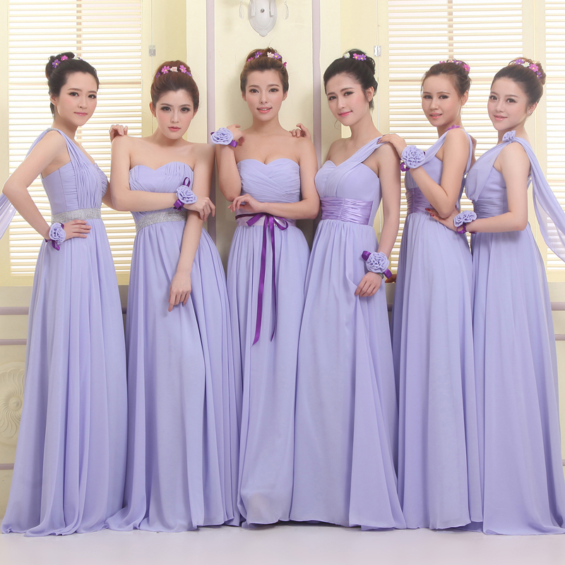 Lavender Wedding Bridesmaid Dresses