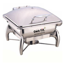 india food warmer buffet ownfit induction chafing dish 6L for hotel restaurant