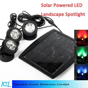 Outdoor 18 Led Solar Led Flood Lights Floodlight Solar Spotlights ...