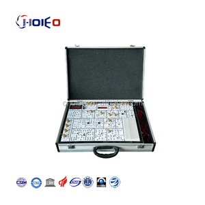 Analog Circuit Experimental Box,electronic simulator trainer for school lab,vocational training set,education didactic kits