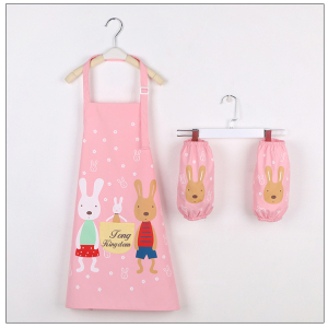 kids cooking apron customized logo cotton colorful waterproof apron for kids